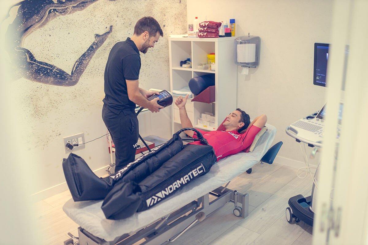 normatec fisioterapia